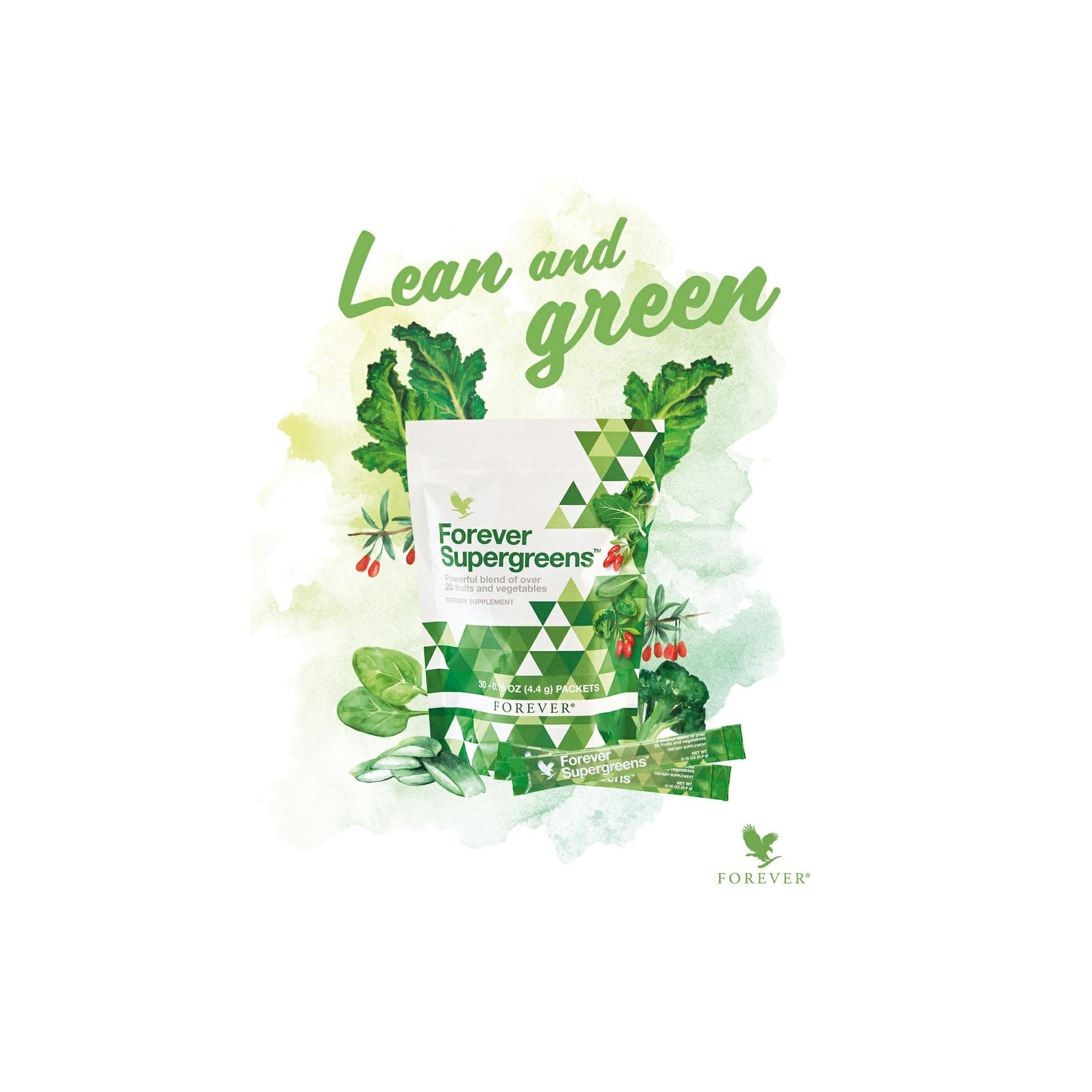 Forever Supergreens für die Familie von Mag. Lothar Rendulic