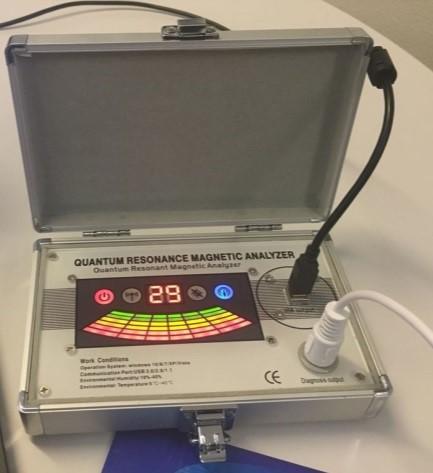 Der Quanten Resonanz Magnetic Analyzer von RL-Vital
